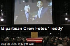 Bipartisan Crew Fetes &#39;Teddy&#39;