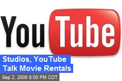Studios, YouTube Talk Movie Rentals