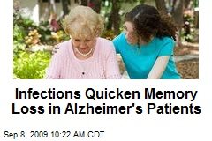 Infections Quicken Memory Loss in Alzheimer&#39;s Patients