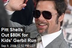 Pitt Shells Out $80K for Kids' Gerbil Run