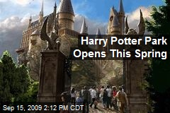 Harry Potter Park Opens This Spring
