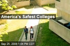 America's Safest Colleges