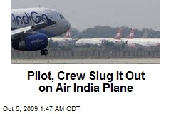 Pilot, Crew Slug It Out on Air India Plane