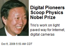 Digital Pioneers Scoop Physics Nobel Prize
