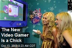 The New Video Gamer Is a Chick