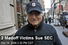 2 Madoff Victims Sue SEC