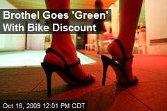 Brothel Goes &#39;Green&#39; With Bike Discount