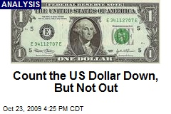 Count the US Dollar Down, But Not Out