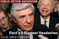 Reid&#39;s 6 Biggest Headaches