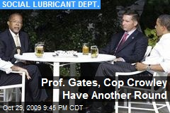 Prof. Gates, Cop Crowley Have Another Round