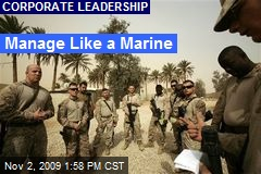 Manage Like a Marine