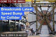 Breadcrumb Latest Speed Bump for Collider