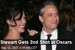 Stewart Gets 2nd Shot at Oscars