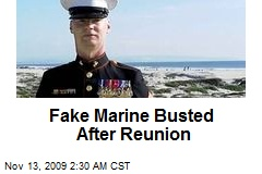 Fake Marine Busted After Reunion