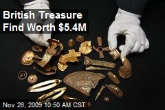 British Treasure Find Worth $5.4M