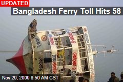 Bangladesh Ferry Toll Hits 58