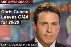 Chris Cuomo Leaves GMA for 20/20