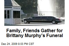 Family, Friends Gather for Brittany Murphy's Funeral