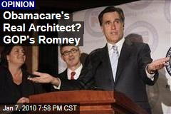 Obamacare&#39;s Real Architect? GOP&#39;s Romney