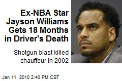 Ex-NBA Star Jayson Williams Gets 18 Months in Driver's Death