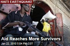 Aid Reaches More Survivors