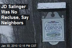 JD Salinger Was No Recluse, Say Neighbors