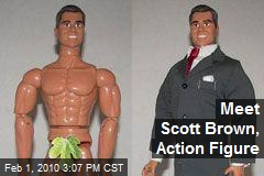 Meet Scott Brown, Action Figure