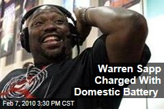 Warren Sapp Charged With Domestic Battery