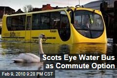 Scots Eye Water Bus as Commute Option