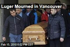Luger Mourned in Vancouver