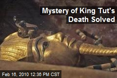 cause of tuts death The death of tutankhamun: accident, disease, or murder  on any single explanation for the cause of death of  the death of tutankhamun: accident, disease, or.