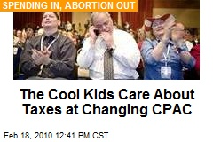The Cool Kids Care About Taxes at Changing CPAC