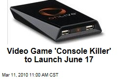 Video Game &#39;Console Killer&#39; to Launch June 17