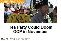 Tea Party Could Doom GOP in November