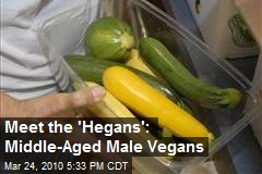 Meet the &#39;Hegans&#39;: Middle-Aged Male Vegans