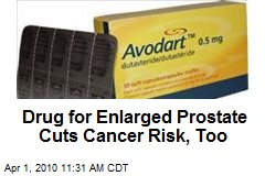 Drug for Enlarged Prostate Cuts Cancer Risk, Too