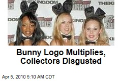 Bunny Logo Multiplies, Collectors Disgusted
