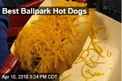 Best Ballpark Hot Dogs