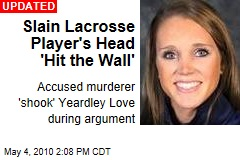 Slain Lacrosse Player's Head 'Hit the Wall'