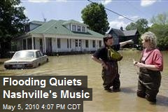 Flooding Quiets Nashville's Music
