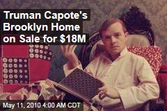 Truman Capote&#39;s Brooklyn Home on Sale for $18M
