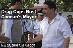 Drug Cops Bust Cancun's Mayor