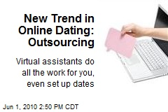 New Trend in Online Dating: Outsourcing