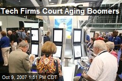 Tech Firms Court Aging Boomers