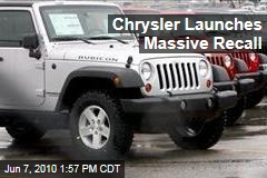 Chrysler Launches Massive Recall