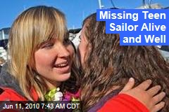 Team Holds Out Hope That Missing Teen Sailor Is Alive