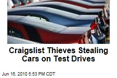 Craigslist Thieves Stealing Cars on Test Drives