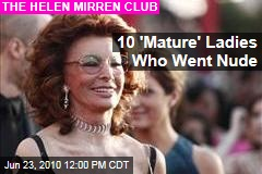 (Newser) - Helen Mirren's naked photo shoot inspired Olivia Allin to find ...