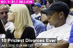 10 Priciest Divorces Ever