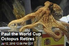 Paul the World Cup Octopus Retires